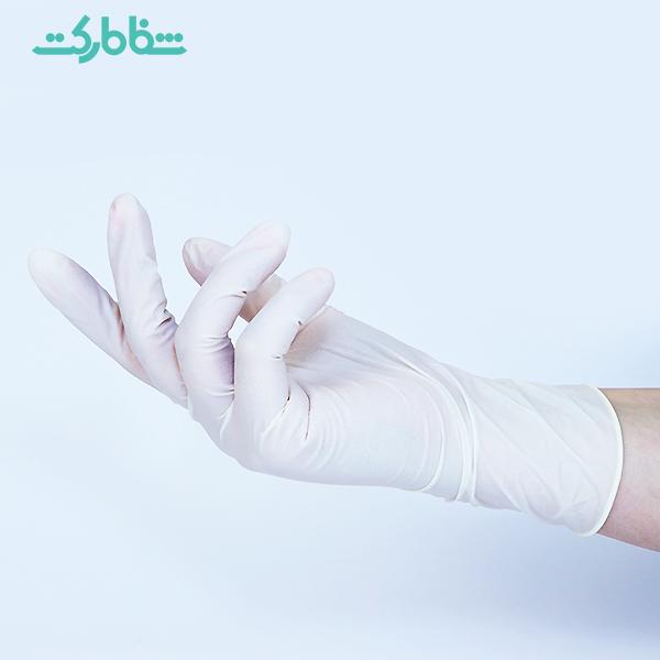 دستکش لاتکس ،دستکش لاتکس بدون پودر،دستکش لاتکس بدون پودر OP_PERFECT حریر